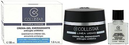 Set Gesichtscreme-Gel und After Shave - Collistar Linea Uomo Energizzante (cr/50ml + ash/gel/15ml) — Bild N1