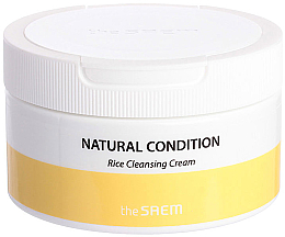 Düfte, Parfümerie und Kosmetik Reinigungscreme für das Gesicht mit Reisextrakt - The Saem Natural Condition Rice Cleansing Cream