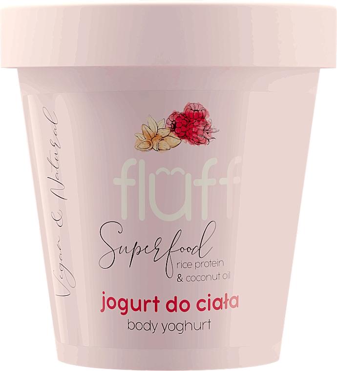 Körperjoghurt mit Mandel- und Himbeerduft - Fluff Body Yogurt Raspberries and Almonds