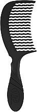 Düfte, Parfümerie und Kosmetik Haarkamm schwarz - Wet Brush Pro Detangling Comb Black