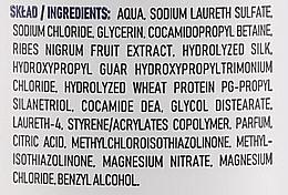 Shampoo für mehr Volumen mit Extrakt aus schwarzen Johannisbeeren, Seidenprotein und Sheabutter - Ovoc Black Currant Shampoo — Bild N3