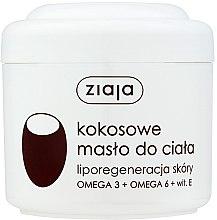 Düfte, Parfümerie und Kosmetik Kokosnuss Körperbutter - Ziaja Body Butter