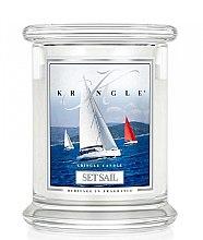 Düfte, Parfümerie und Kosmetik Duftkerze im Glas Set Sail - Kringle Candle Set Sail