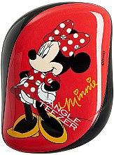 Düfte, Parfümerie und Kosmetik Kompakte Haarbürste - Tangle Teezer Compact Styler Minnie Mouse Red