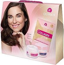Düfte, Parfümerie und Kosmetik Gesichtspflegeset - Dermacol Collagen+ (Tagescreme 50ml + Nachtcreme 50ml + Gesichtsmaske 2x 8g)