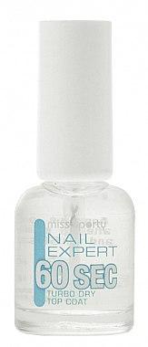 Schnelltrocknender Nagelüberlack - Miss Sporty Nail Expert 60 Sec Turbo Dry Top Coat — Bild N1