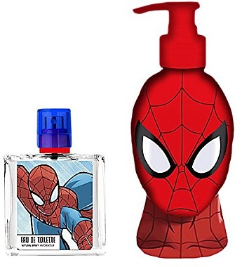 Air-Val International Spiderman - Duftset (Eau de Toilette 50ml + Duschgel 250ml) — Bild N2