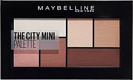 Düfte, Parfümerie und Kosmetik Lidschatten - Maybelline New York The City Kits Mini
