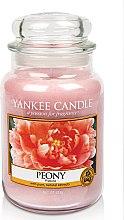 Düfte, Parfümerie und Kosmetik Duftkerze im Glas Peony - Yankee Candle Peony Jar