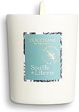 Duftkerze im Glas Souffle de Liberté - L'Occitane Revitalizing Candle Breath Of Freedom — Bild N3