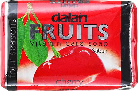 Vitamin-Seife mit Sauerkirsche - Dalan Fruits Vitamin Care Soap Cherry — Bild N1