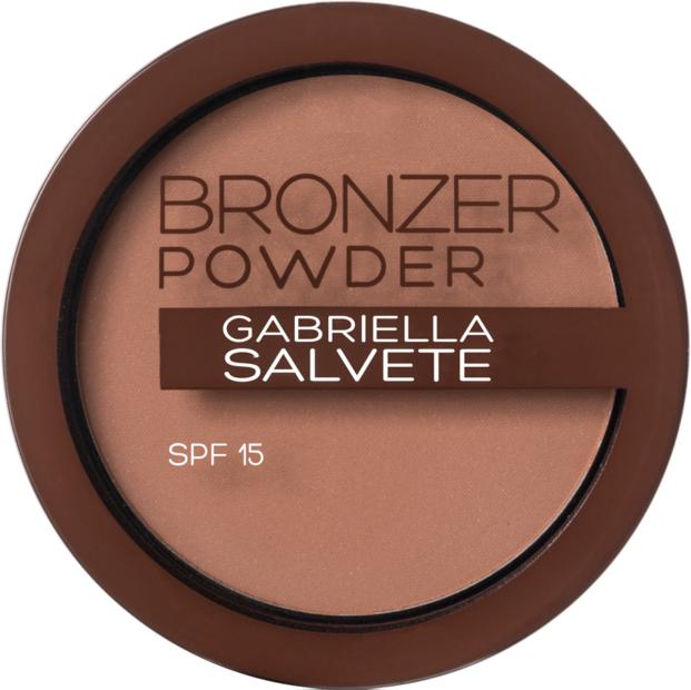 Bronzing-Puder mit Hyaluronsäure und LSF 15 - Gabriella Salvete Bronzer Powder SPF 15