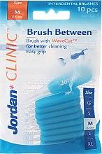 Düfte, Parfümerie und Kosmetik Interdentalzahnbürsten Clinic M 0,6 mm blau 10 St. - Jordan Clinic Interdental Brush M