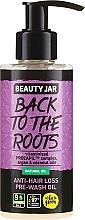 Düfte, Parfümerie und Kosmetik Haaröl mit Kokos- und Arganöl gegen Haarausfall - Beauty Jar Back To The Roots Pre-wash Oil