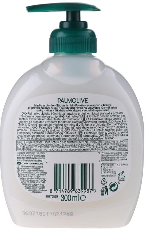 Flüssigseife mit Milch und Orchidee - Palmolive Naturel  — Bild N2