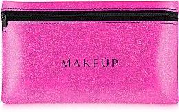 Düfte, Parfümerie und Kosmetik Kosmetiktasche Glitter Pouch rosa 22x13 cm - MakeUp