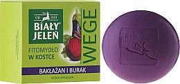 Düfte, Parfümerie und Kosmetik Seife mit Rüben und Aubergine - Bialy Jelen Soap Beetroot And Eggplant