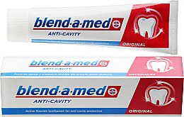 Zahnpasta Anti-Cavity Original - Blend-a-med Anti-Cavity Original Toothpaste — Bild N1