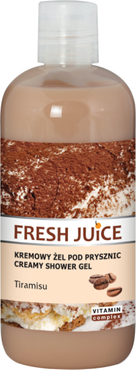 Creme-Duschgel mit Tiramisu - Fresh Juice Tiramisu Creamy Shower Gel — Bild N1