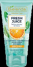 Düfte, Parfümerie und Kosmetik Feuchtigkeitsspendendes Zuckerpeeling für Gesicht mit Orange - Bielenda Fresh Juice Peel
