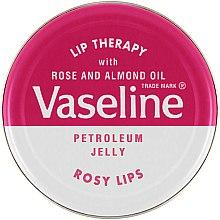 Düfte, Parfümerie und Kosmetik Kosmetische Lippenvaseline mit Rose und Mandelöl - Vaseline Lip Therapy Rosy Lips Balm