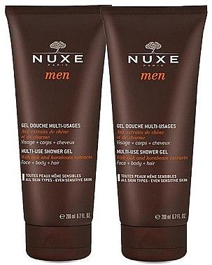 Körperpflegeset - Nuxe Men Multi-Use (Duschgel 2x200ml) — Bild N1