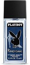 Düfte, Parfümerie und Kosmetik Playboy King Of The Game - Parfümiertes Körperspray