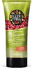 Düfte, Parfümerie und Kosmetik Straffender Körperbalsam Birne und Preiselbeere - Farmona Tutti Frutti Smoothing Body Balm Pear & Cranberry