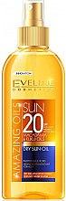 Düfte, Parfümerie und Kosmetik Sonnenschutzspray mit Macadamia- und Kukui-Öl SPF 20 - Eveline Cosmetics Amazing Oils Dry Sun Oil SPF20
