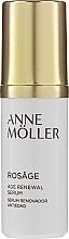 Düfte, Parfümerie und Kosmetik Anti-Aging Gesichtsserum mit Hyaluronsäure - Anne Moller Rosage Age Renewal Serum