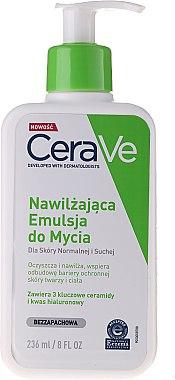 Reinigungs Creme-Gel für Gesicht und Körper mit 3 essentiellen Ceramiden - CeraVe Hydrating Cleanser — Bild N2