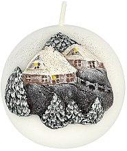 Düfte, Parfümerie und Kosmetik Dekorative Kerze Winter House - Artman Christmas Candle Winter House Ø8cm