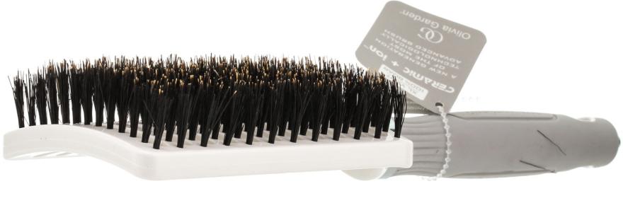 Haarbürste - Olivia Garden Xl Boar Ceramic+ion Vent — Bild N2