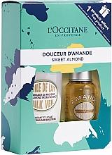 Düfte, Parfümerie und Kosmetik Körperpflegeset - L'occitane Almond Gift Set (Duschöl 75ml + Körpermilch 240ml)