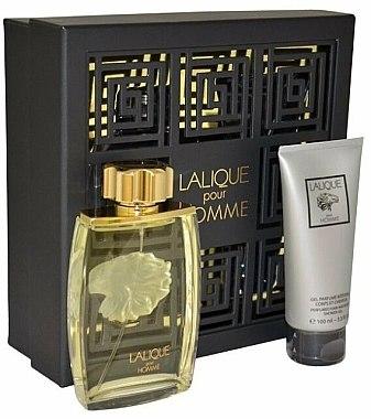 Lalique Lalique Pour Homme - Duftset (Eau de Parfum/125ml + Duschgel/100ml) — Bild N1