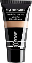 Düfte, Parfümerie und Kosmetik Flüssige Foundation - Astra Make-Up My Foundation Natural Effect