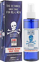 Düfte, Parfümerie und Kosmetik Belebende Haarwasser mit leichtem Halt - The Bluebeards Revenge Cuban Blend Hair Tonic
