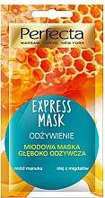 Düfte, Parfümerie und Kosmetik Nährende Gesichtsmaske mit Manuka-Honig - Perfecta Express Mask