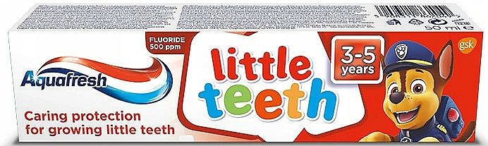 Kinder-Zahnpasta 3-5 Jahre - Aquafresh Kids PAW Patrol — Bild N1