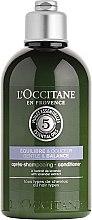 Düfte, Parfümerie und Kosmetik Beruhigende Haarspülung für gesundes und glänzendes Haar - L'Occitane Aromachologie Gentle & Balance Conditioner
