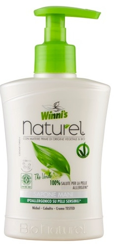Flüssige Handseife mit Grüntee-, Birken- und Aloe Vera-Extrakt - Winni's Naturel Liquid Hand Soap Mani The Verde — Bild N1