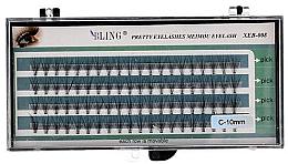 Düfte, Parfümerie und Kosmetik Wimpernbüschel-Set C-10 mm - Bling Pretty Eyelashes