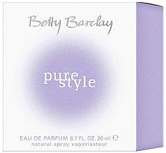 Betty Barclay Pure Style - Eau de Toilette — Bild N2