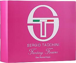 Düfte, Parfümerie und Kosmetik Sergio Tacchini Fantasy Forever Eau Romantique - Duftset (Eau de Toilette 50ml + Kosmetiktasche 1St.)