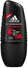 Düfte, Parfümerie und Kosmetik Deo Roll-on Antitranspirant - Adidas Dry Power Anti-Perspirant Cool & Dry 72 h