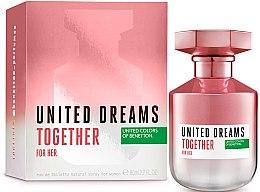 Düfte, Parfümerie und Kosmetik Benetton United Dreams Together For Her - Eau de Toilette