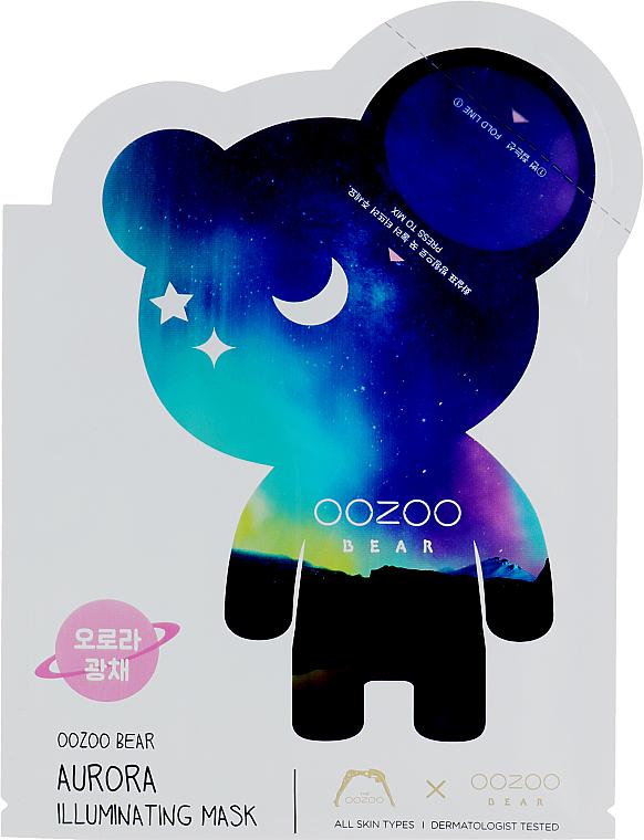 Gesichtsmaske mit Reiswasser - The Oozoo Bear Aurora Illuminating Mask — Bild N1
