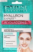 Düfte, Parfümerie und Kosmetik Glättendes Enzym-Gesichtspeeling mit Hyaluronsäure - Eveline Cosmetics Hyaluron Expert Enzymatic Peeling