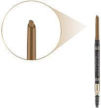 Automatischer Augenbrauenstift mit Bürste - Max Factor Brow Slanted Pencil Blond — Bild N2