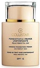 Düfte, Parfümerie und Kosmetik Make-up Base - Collistar Foundation Primer Perfect Skin Smoothing 24H SPF15